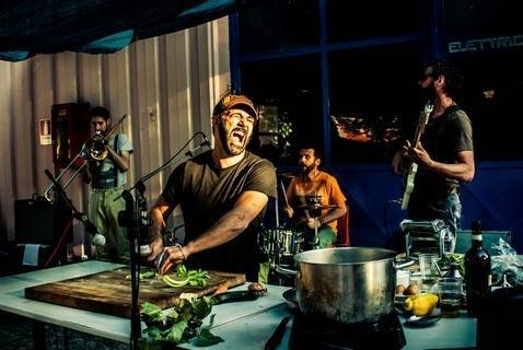 Don Pasta food sound system. foto orenzo cuppini