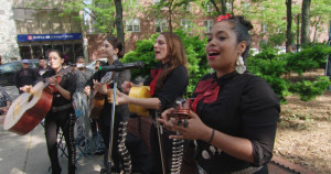 In Jackson Heights - Mariachis