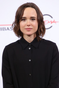 ROME, ITALY - OCTOBER 18: Ellen Page attends a photocall for 'Freeheld' during the 10th Rome Film Fest on October 18, 2015 in Rome, Italy. (Photo by Vittorio Zunino Celotto/Getty Images) *** Local Caption *** Ellen Page