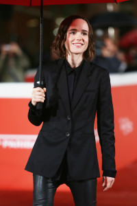 ROME, ITALY - OCTOBER 18: Ellen Page walks the red carpet for 'Freeheld' during the 10th Rome Film Fest at Auditorium Parco Della Musica on October 18, 2015 in Rome, Italy. (Photo by Ernesto Ruscio/Getty Images) *** Local Caption *** Ellen Page