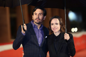 ROME, ITALY - OCTOBER 18: Director Peter Sollett and Ellen Page walk the red carpet for 'Freeheld' during the 10th Rome Film Fest at Auditorium Parco Della Musica on October 18, 2015 in Rome, Italy. (Photo by Ernesto Ruscio/Getty Images) *** Local Caption *** Peter Sollett;Ellen Page
