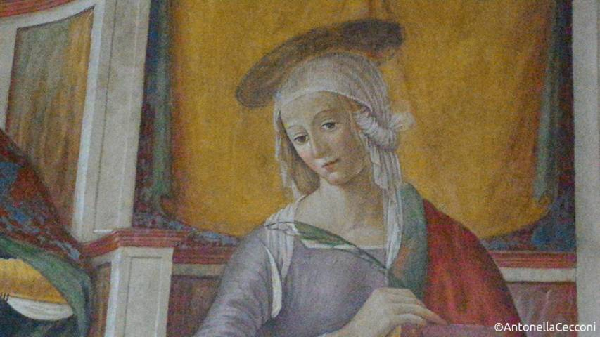 Santa Rufina, affresco, Santa Seconda