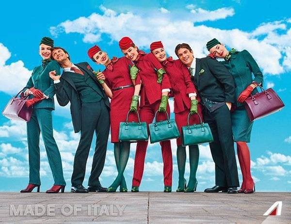 "Alitalia, ""Made of Italy"""