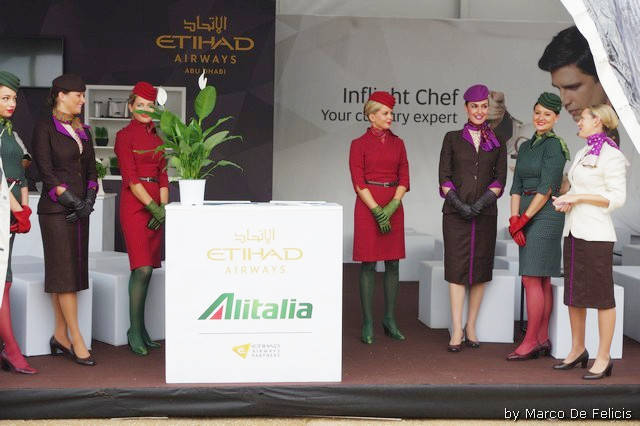 Etihad Airways - Alitalia