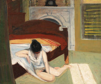 Hopper, summer interior