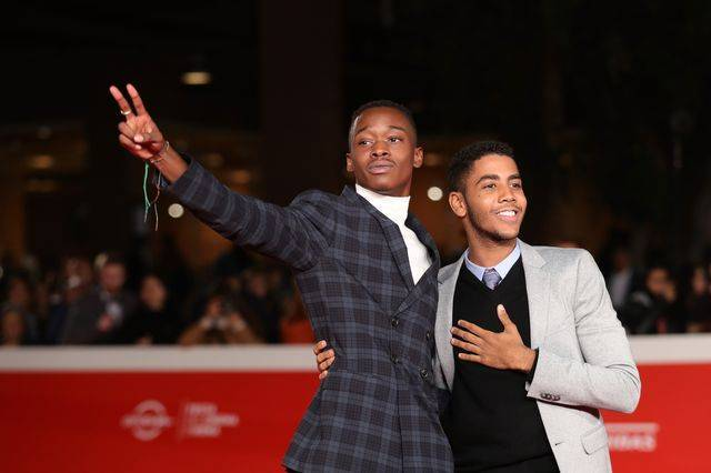Jharrel Jerome (R) and Ashton Sanders