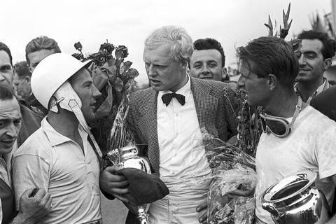Mike Hawthorn e Peter Collins