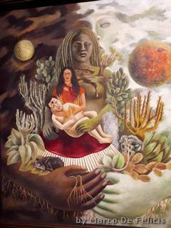 L'abbraccio d'amore dell'universo, la terra (Messico), io Diego e il signor Xólotl, 1939, The Jacques and Natasha Gelman Collection of 20th Century Mexican Art and The Vergel Foundation.