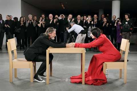 Marina Abramović The Artist is Present 2010, 7- channel video installation (color, no sound), New York, Abramović LLC. Courtesy of Marina Abramović Archives and Sean Kelly, New York, MAC/2017/071Credit: Photography by Marco Anelli. Courtesy of Marina Abramović Archives Marina Abramović by SIAE 2018