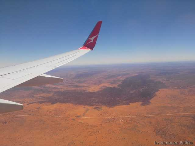 In volo su Alice Springs