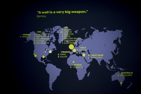 """A wall is a very big weapon"""